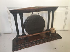 Antique table gong