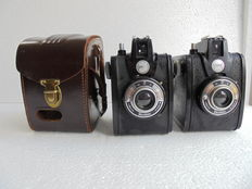 A lot of 2 Gevaert Gevabox II cameras