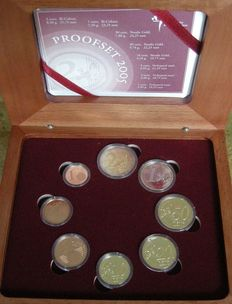 The Netherlands – Year pack Euro coins 2005
