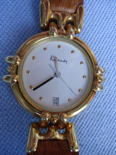 Kutchinsky 18 Kt Solid Gold Gentlemans Date  Watch - Circa 1996 -   VERY SPECIAL