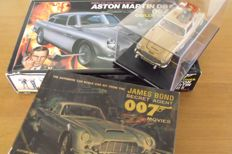 Aston Martin DB5 James Bond 007  1965 1/24 scale Airfix & Doyusha from James Bond's movies