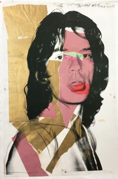 Andy Warhol (after) - Mick Jeagger