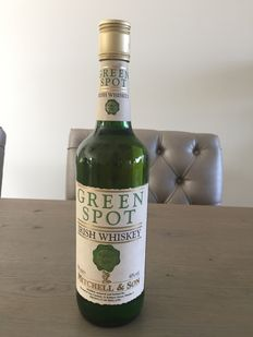 Green Spot Irish Whiskey / Old label