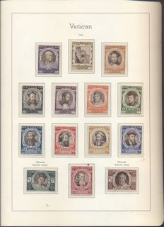 Vatican City – 1940/2000 – Collection in three albums and on sheets