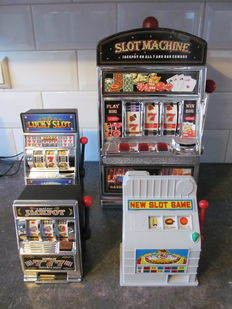 Four slot machines