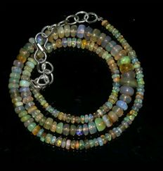 Welo opal necklace.