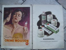 Kaloderma,Creme Mousson-advertising page-Germany-1954