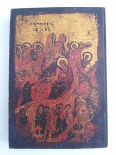 "Icon on wood ""Gennessis"""