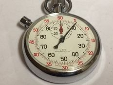U.C.W. pocket watch, stopwatch (Swiss made)