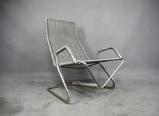 Jean Prouvé for Tecta – Vintage D36 'Zweefstoel' (Floating Chair)
