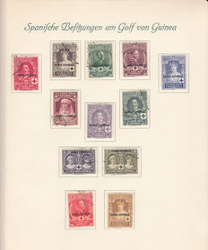 Guinea, 1908–1971 – Collection of stamps and letters
