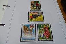 World - collection of stamps, series and blocks.