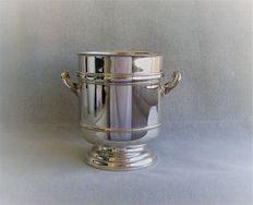 Christofle Gallia - Art Deco Silver plated Champagne bucket or wine cooler