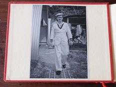 '50s photo album with more than 170 photos