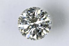 0.21 ct Brilliant-cut diamond - G/VVS1