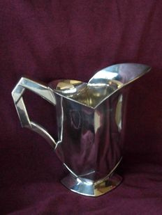 Louis Sue for Christofle Gallia - silver plated Art Deco jug