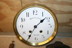 Lot of 3 different clocks from Japy Frere, FHS, and an unbranded old movement