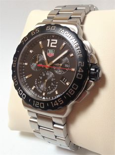 TAG HEUER Formula 1 CHRONOGRAPH, 42 MM – Reference: CAU1110.BA0858 – Men's wristwatch.