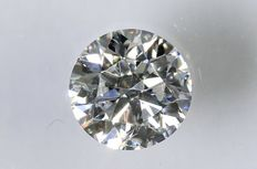 0.18 ct Brilliant-cut diamond - E/SI1