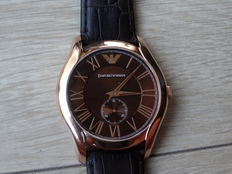 Emporio Armani 1705 S/S Rose Gold - Men's Watch - Never Worn