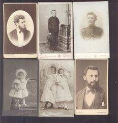 Portrait photographs from Germany/Poland - 25 x - 1880/1920