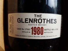 The Glenrothes 1980 - cask strength - OB