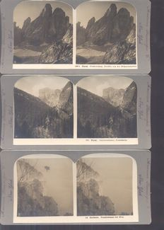 Stereoscope photos 17 x - 1925/1940