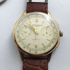 BAUME & MERCIER – Men's wristwatch. From the 1960s.