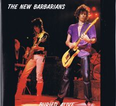 Rolling Stones: 3LPs The New Barbarians / Buried Alive Luxembourg 1990 gatefold 3LP-set.