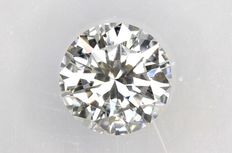 0.18 ct Brilliant-cut diamond - D/IF  Internally Flawless