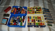 Collection of 112 pieces. Matchbox 1:64, Lesney, Siku, Norev 1:43 Wiking 1:87 model cars