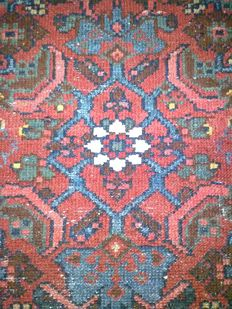 "An authentic Persian carpet ""Hamadan"" ca 1920!!"