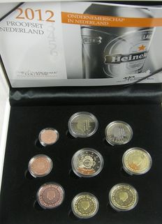 "The Netherlands – Year pack (Proof) 2012 including 2 Euro coin ""Tenth Anniversary of the Euro"""