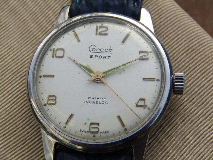 Corect sport men's watch, 1950s