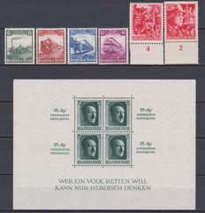 Germany 1935/45 - A selection on Stock Card