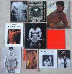 Photography; Lot with 9 photo books-1986/2000