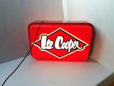 Illuminated sign for Lee Cooper - Belgium - last quarter of the 20th century.