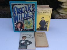 Oscar Wilde - Lot with 4 works - 1908/1996