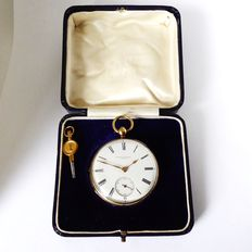 Hunter & Edwards pocket watch { London made 1841 f }