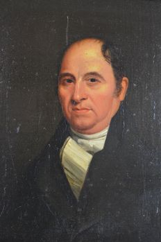 Unknown. (Circa. 1810) - A portrait of a gentleman