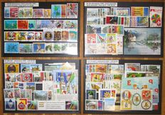 Switzerland - Small collection consisting of Year Sets 1992, 1998, 1999 and 2002