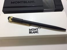 Montblanc Scenium New Edition black - black-gold ballpoint pen + box + cardboard