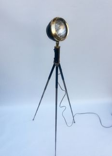 Projector lamp on tripod, Mayfair Vintage