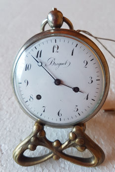 34 Breguet - verge watch - c1800 - hour sel chiming on a tone spiral