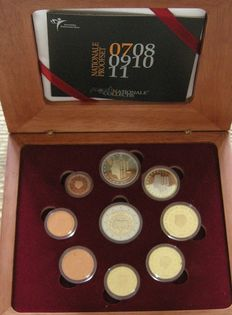 "The Netherlands – Year pack (Proof) 2007 incl. 2 Euro ""Treaty of Rome"""