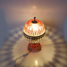 Very nice lamp with crystal and copper