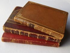 Lot with 3 Antiquarian Volumes - English Literature 1845/95.