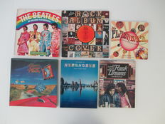 Lot of 6 essential rock books, including first print Rock Dreams