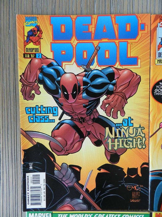 Deadpool Volume 2 # 2, 5, 6, 7, 8, 9, 10 + Daredevil / Deadpool Annual '97 - 8x sc - (1997)