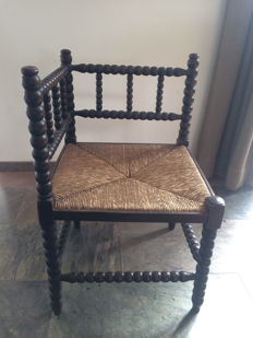 Antique wooden stool/chair